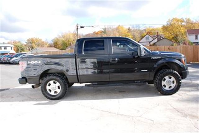 2013 ford f 150 xlt lift 301a crew ecoboost welland ontario used car for sale 2629137. Black Bedroom Furniture Sets. Home Design Ideas