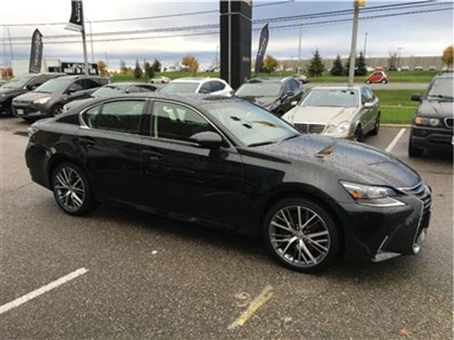 2016 lexus gs 350 heated rear seats mark levinson nav brampton ontario used car for sale. Black Bedroom Furniture Sets. Home Design Ideas