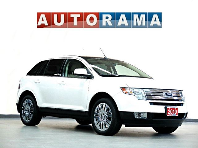 2010 ford edge limited leather panoramic sunroof awd white. Black Bedroom Furniture Sets. Home Design Ideas