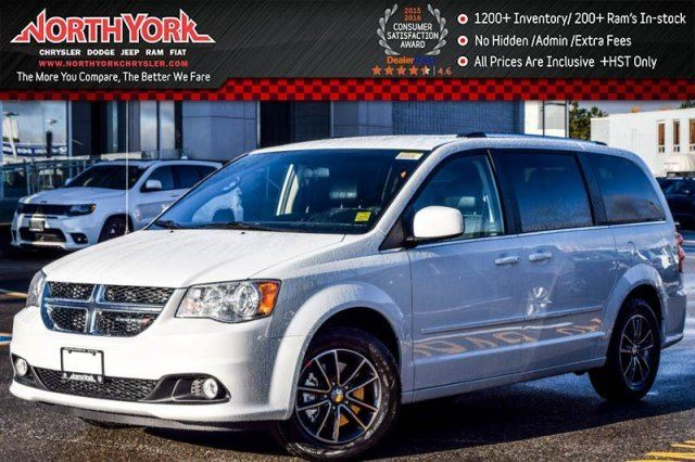 2017 Dodge Grand Caravan NEW Car SXT KeylessEntry Cruise A/C StowN'Go PwrOptions 17Alloys  in Thornhill, Ontario