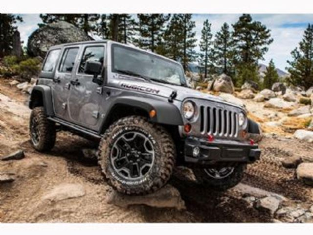 2017 Jeep Wrangler Unlimited Rubicon 4x4 Grey Lease