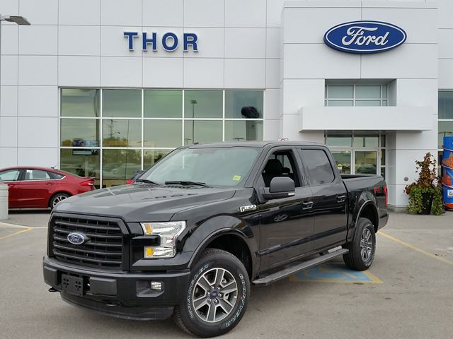 2016 ford f 150 xlt sport orillia ontario new car for sale 2628728. Black Bedroom Furniture Sets. Home Design Ideas