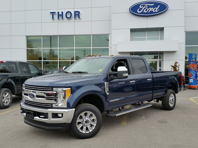 2017 ford super duty f 250 lariat blue thor motors new car. Black Bedroom Furniture Sets. Home Design Ideas
