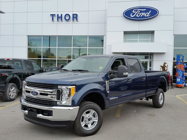 2017 Ford Super Duty F 250 Xlt Blue Thor Motors New Car