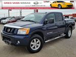 2012 Nissan Titan PRO-4X 4WD w/all leather,power group,rear assist,tonneau cover & bedliner in Cambridge, Ontario
