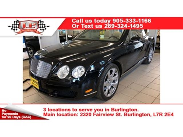 2007 BENTLEY CONTINENTAL Automatic, Leather, Navigation, Heated Seats, Conv in Burlington, Ontario