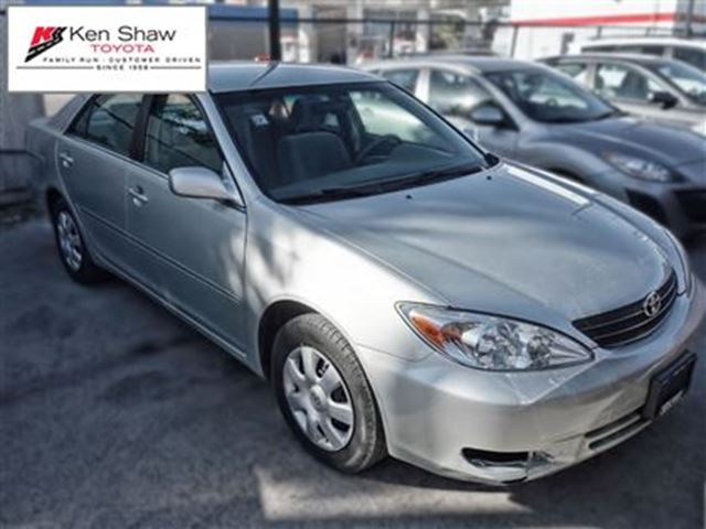 2002 toyota camry le toronto ontario used car for sale. Black Bedroom Furniture Sets. Home Design Ideas