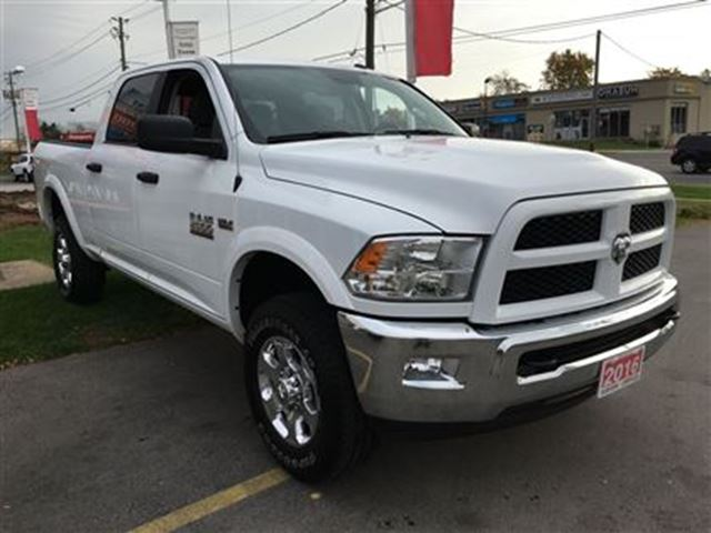 2016 dodge ram 2500 outdoorsman burlington ontario used car for sale 2630215. Black Bedroom Furniture Sets. Home Design Ideas