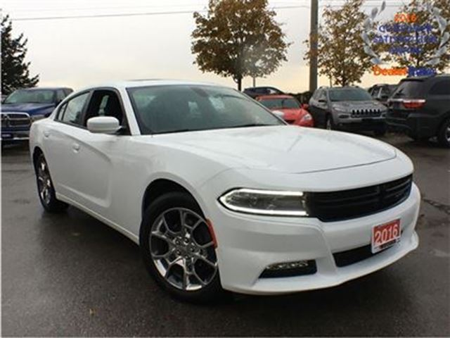 2016 dodge charger sxt awd leather sunroof white. Black Bedroom Furniture Sets. Home Design Ideas