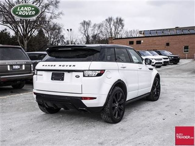 2014 land rover range rover evoque dynamic toronto ontario used car for sale 2629754. Black Bedroom Furniture Sets. Home Design Ideas
