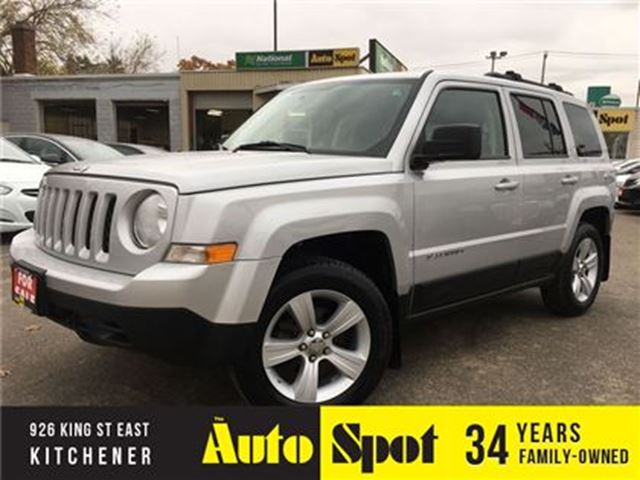 2011 JEEP PATRIOT North Edition/MOONROOF/AWD in Kitchener, Ontario