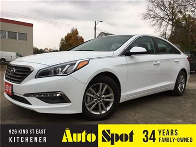 2016 HYUNDAI SONATA 2.4L GL/MASSIVE INVENTORY CLEAROUT/LOW, LOW KMS !1 in Kitchener, Ontario