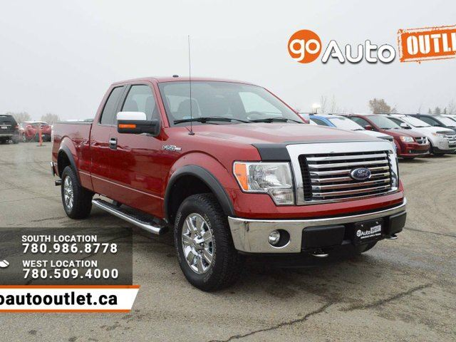 2012 ford f 150 xlt 4x4 super cab 6 5 ft box 145 in wb red go auto outlet. Black Bedroom Furniture Sets. Home Design Ideas