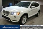 2014 BMW X3 xDrive28i 4dr AWD *Local One Owner,Winter Tires,Carproof Clean,Pano Roof, Park Sensors, 360 Camera* in Calgary, Alberta