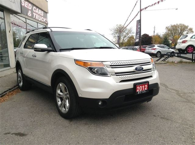 2012 ford explorer limited loaded loaded loaded bowmanville ontario used car for sale. Black Bedroom Furniture Sets. Home Design Ideas