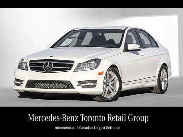 2014 mercedes benz c300 4matic sedan polar white for Mercedes benz 24 hour roadside assistance