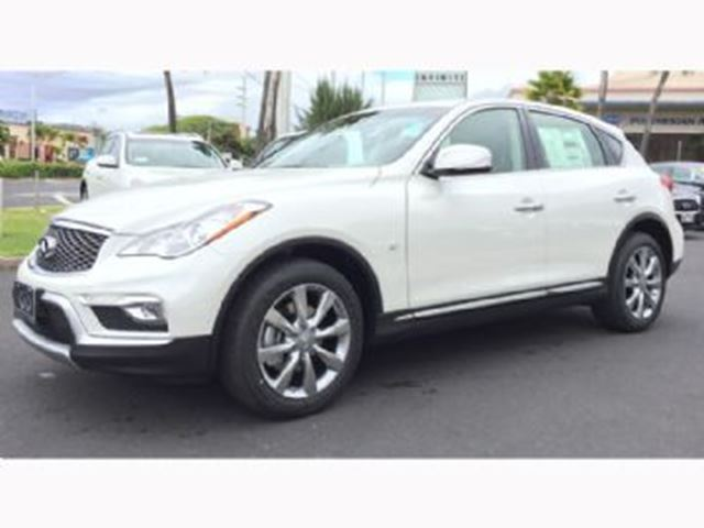 2016 infiniti qx50 awd i16413 white lease busters. Black Bedroom Furniture Sets. Home Design Ideas