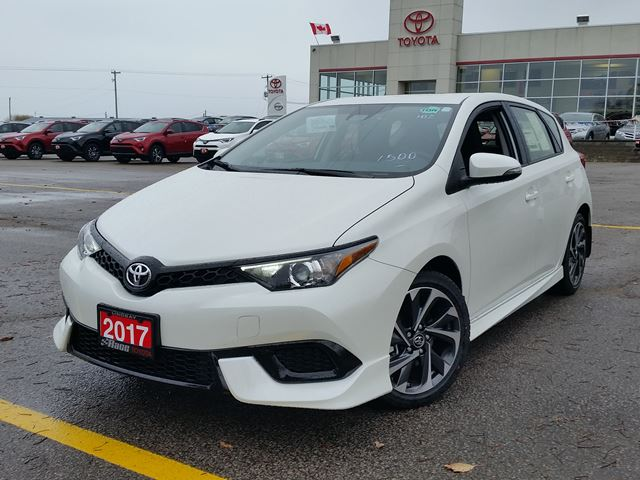 2017 toyota corolla im white race toyota new car. Black Bedroom Furniture Sets. Home Design Ideas