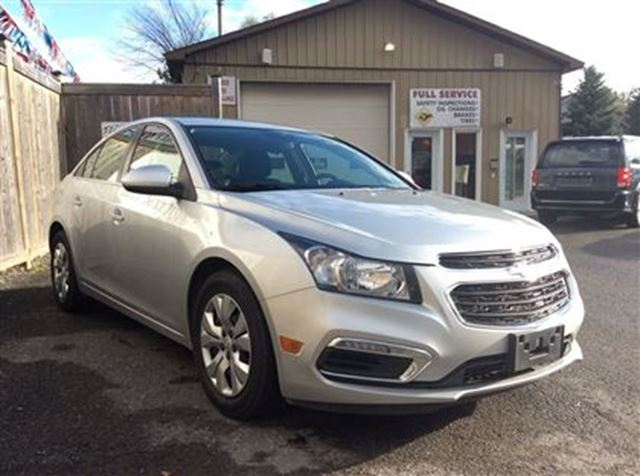 2015 chevrolet cruze 1lt ottawa ontario used car for sale 2631164. Black Bedroom Furniture Sets. Home Design Ideas