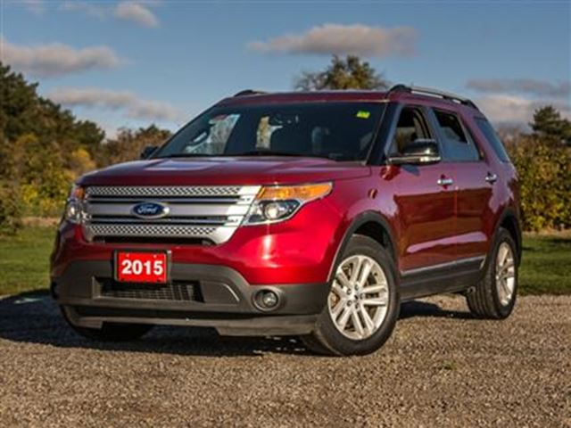 2015 ford explorer xlt niagara falls ontario used car for sale 2631397. Black Bedroom Furniture Sets. Home Design Ideas