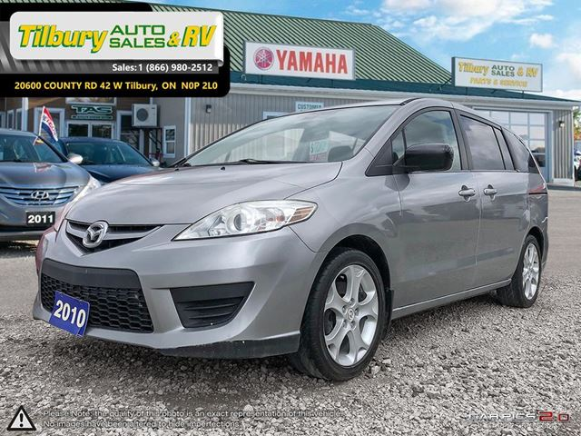 2010 MAZDA MAZDA5 GS. BLUETOOTH. CLEAN. 6 PASSENGER SEATING. in Tilbury, Ontario