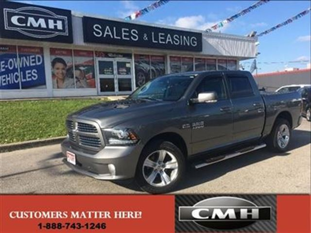 2013 dodge ram 1500 sport hemi crew 4x4 certified st catharines ontario used car for sale. Black Bedroom Furniture Sets. Home Design Ideas