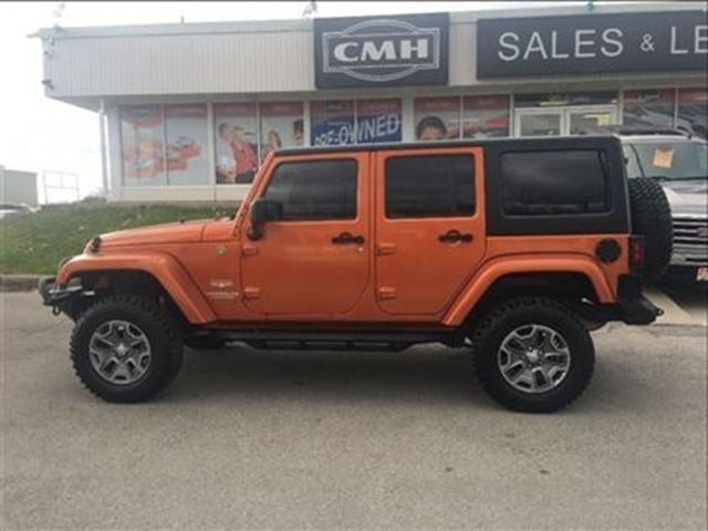 2011 jeep wrangler unlimited sahara leath loaded certified st catharines ontario used car. Black Bedroom Furniture Sets. Home Design Ideas