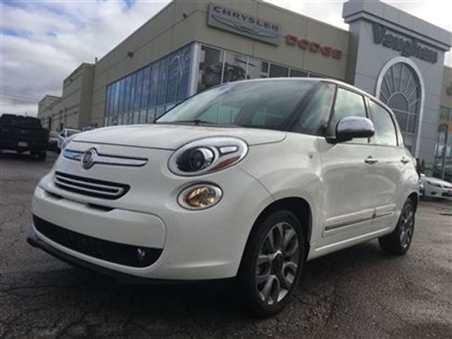 2015 fiat 500l lounge panoramic sunroof navigation back up woodbridge ontario used car. Black Bedroom Furniture Sets. Home Design Ideas