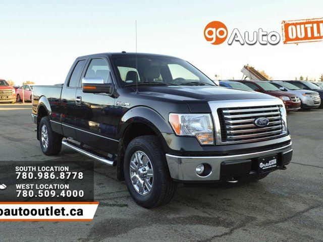 2012 ford f 150 xlt 4x4 super cab 6 5 ft box 145 in wb edmonton alberta used car for sale. Black Bedroom Furniture Sets. Home Design Ideas