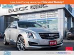 2015 Cadillac ATS Luxury AWD/NAV/SUNROOF/TURBO in Toronto, Ontario