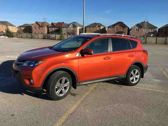 2015 toyota rav4 fwd 4dr xle orange finance busters. Black Bedroom Furniture Sets. Home Design Ideas