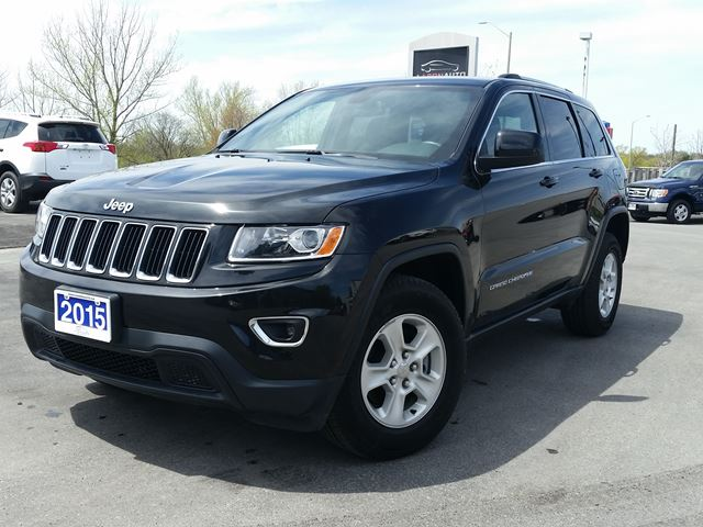 2015 jeep grand cherokee laredo 4x4 suv black aaron auto. Black Bedroom Furniture Sets. Home Design Ideas