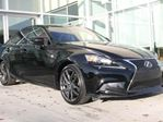 2015 Lexus IS 250 FSPORT/HEATED COOLED FRONT SEATS/AWD/PADDLE SHIFTERS in Edmonton, Alberta