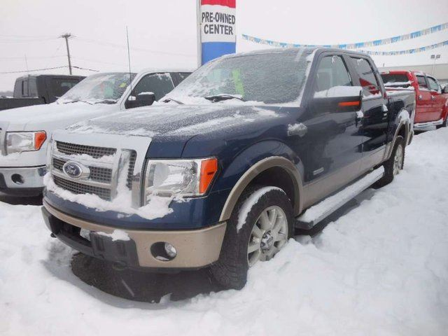 2012 ford f 150 king ranch 4x4 supercrew cab 6 5 ft box 157 in wb dawson creek british. Black Bedroom Furniture Sets. Home Design Ideas