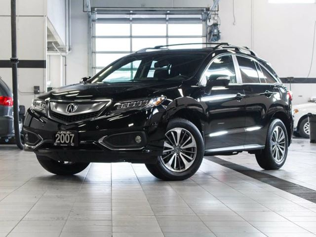 2017 Acura RDX AWD Elite Black | LEXUS OF KELOWNA | Wheels.ca