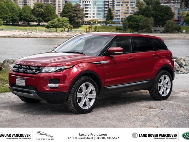 2013 land rover range rover evoque pure red mcl motor cars inc. Black Bedroom Furniture Sets. Home Design Ideas