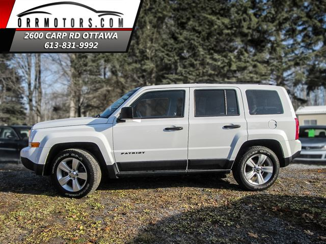 2011 jeep patriot 2wd stittsville ontario car for sale. Black Bedroom Furniture Sets. Home Design Ideas