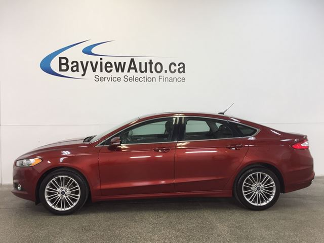 2014 ford fusion se ecoboost awd sunroof leather sync orange bayview auto sales. Black Bedroom Furniture Sets. Home Design Ideas