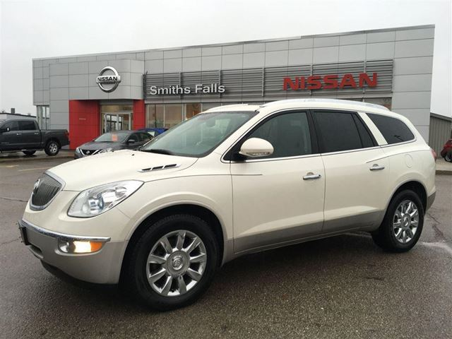 2012 buick enclave cxl1 white smiths falls nissan. Black Bedroom Furniture Sets. Home Design Ideas