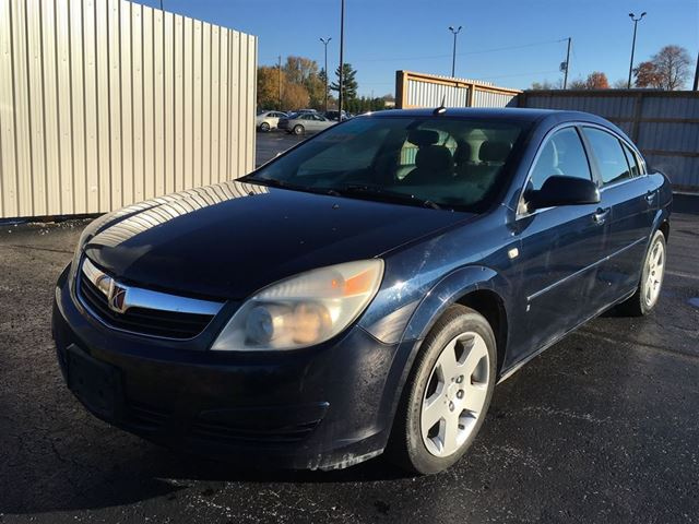 2007 saturn aura xe cayuga ontario used car for sale. Black Bedroom Furniture Sets. Home Design Ideas