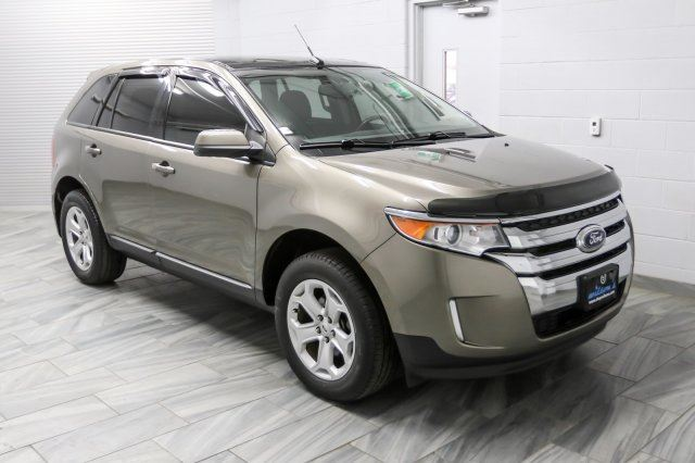 2013 ford edge sel navigation leather sunroof rear for Ford edge motor oil type
