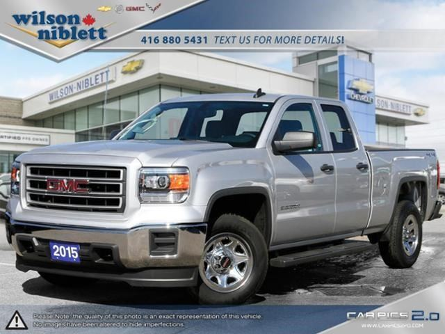 2015 gmc sierra 1500 silver wilson niblett chevrolet buick gmc. Black Bedroom Furniture Sets. Home Design Ideas