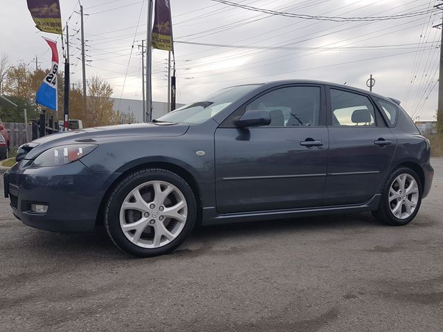 2009 Mazda Mazda3 Gt No Rust Only 119 Kms Sold
