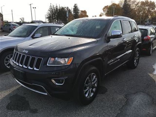 2015 jeep grand cherokee limited fonthill ontario used car for sale 2632892. Black Bedroom Furniture Sets. Home Design Ideas