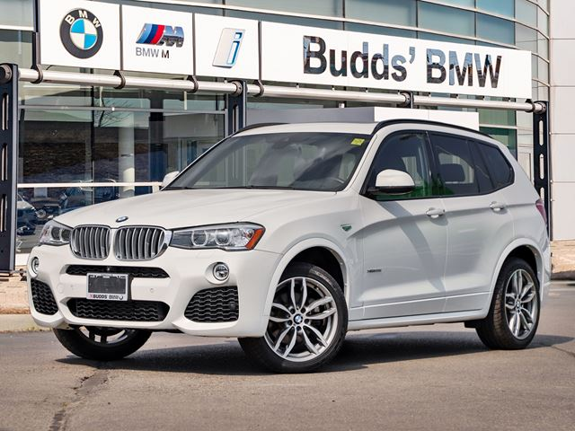 2017 bmw x3 xdrive35i white budds bmw oakville. Black Bedroom Furniture Sets. Home Design Ideas