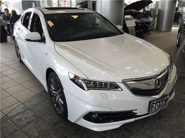 2016 acura tlx 3 5l sh awd w elite pkg a spec package manager de thornhill ontario car for. Black Bedroom Furniture Sets. Home Design Ideas
