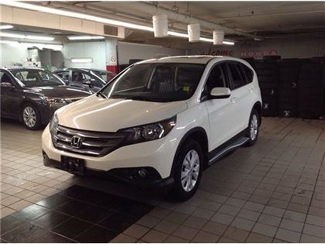 2014 honda cr v ex l white ottawa honda pre owned. Black Bedroom Furniture Sets. Home Design Ideas