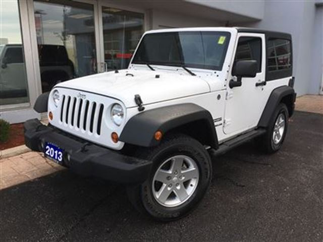 2013 jeep wrangler sport one owner simcoe ontario used car for sale 2634429. Black Bedroom Furniture Sets. Home Design Ideas