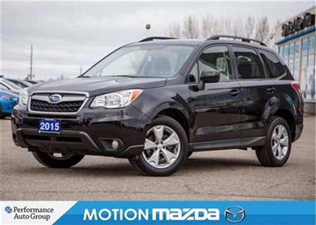 2015 Subaru Forester 2 5i Conv Pkg W Pzev Heated Seats
