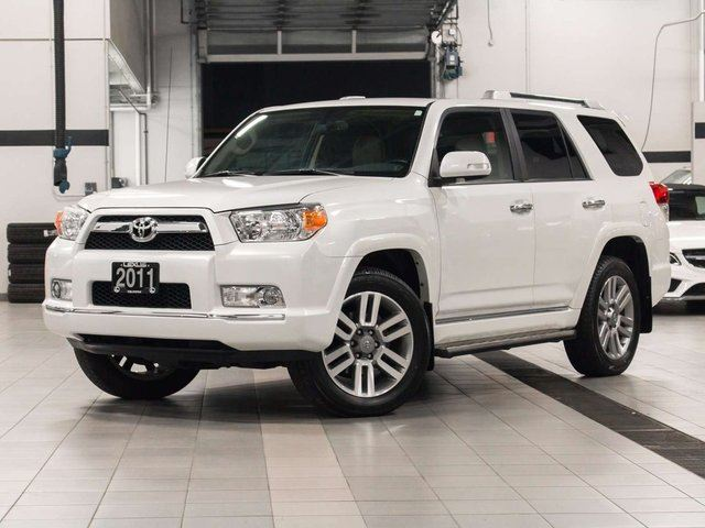 2011 toyota 4runner 4wd limited with navigation white. Black Bedroom Furniture Sets. Home Design Ideas